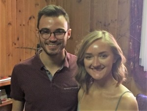 Please welcome our newest members, Brandon Weiss (left) and Katie Grams. They are new to Charlotte from Atlanta and are excited to join in the work of Caldwell church. Please seek them out Sunday in worship or at the reception.